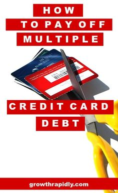 Having to pay off multiple credit card debts means more stress. Don\'t miss this article to learn tips to pay them off one by one and faster