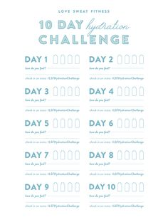 It's time for our 10 Day Hydration Challenge which will keep you on track with staying hydrated! Grab your LSF water bottle & let's do this babes! Love Sweat Fitness, Do You Feel, Hypothyroidism, 10 Days, Challenges, Weight Loss, Free Downloads, Workout, Feelings