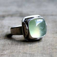Glamour Mermaids / karen cox.  simple, pretty mermaid ring