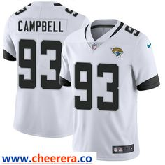 Nike Jacksonville Jaguars  93 Calais Campbell White Men s Stitched NFL  Vapor Untouchable Limited Jersey Jacksonville 3198a0baf