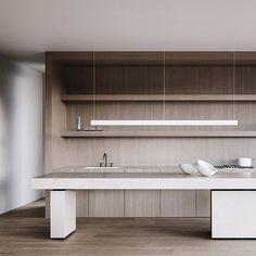 How to choose kitchen furniture ? - Home Fashion Trend Kitchen Furniture, Kitchen Interior, Kitchen Decor, Kitchen Design, Kitchen Ideas, Arch Interior, Modern Interior Design, Interior Architecture, Japanese Interior