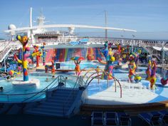 My happy place with my family - Royal Caribbean