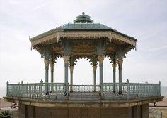 Brighton, Gazebo, Outdoor Structures, Kiosk, Pavilion, Cabana