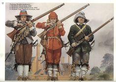 Training Royalist Musketeers (1640s)