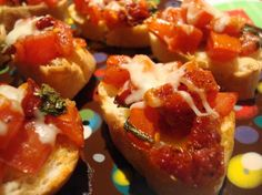 Double Tomato Bruschetta from Food.com: These are really good! I ...