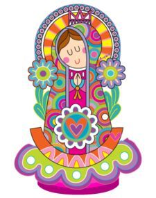 Resultado de imagem para mother mary art lesson for kids Catholic Art, Religious Art, Blessed Mother Mary, Art Lessons For Kids, Rock Art, Cute Pictures, Hello Kitty, Madonna, Artsy