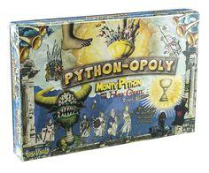 """Inspirado no filme """"Monthy Python – Em Busca do Cálice Sagrado"""" de 1975, essa versão única de Monopoly (ou Banco Imobiliário, com ficou conhecido aqui no Brasil) promete trazer figuras icônicas para sua mesa de jogos!"""