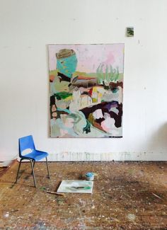 Anne-Sophie Tschiegg – Work in Progres - Gouache Painting Art Inspo, Painting Inspiration, Gouache Painting, Painting & Drawing, Abstract Expressionism, Abstract Art, Picasso Paintings, Art Et Illustration, Illustrations