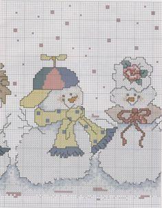 Dancing snowmen 4