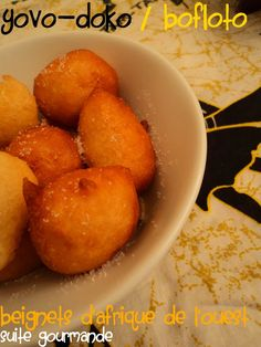 Suite Gourmande: Bofloto (Beignets d'Afrique de l'ouest)