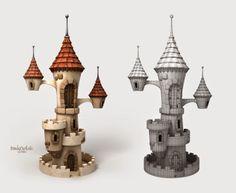 A fairytale's castle