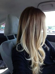 Blonde ombre <3 this I really want!!!! :)