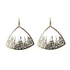 Moscow skyline earrings | Tita' Bijoux