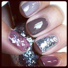 Fall, glam nails