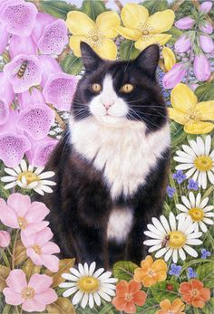 """""""Spring Blossoms"""" by Anne Mortimer"""