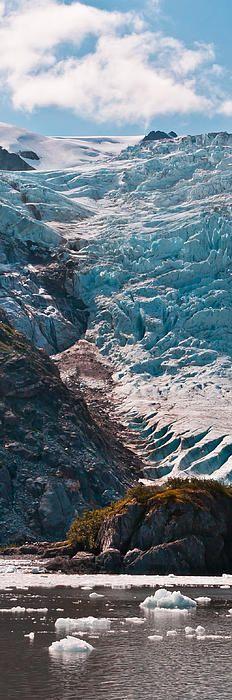 Holgate Glacier in Kenai Fjords National Park, Alaska. I'm always ready to go on a cruise to Alaska! All Nature, Amazing Nature, Alaska Travel, Alaska Usa, Kenai Alaska, Seward Alaska, Usa Travel, Beautiful World, Beautiful Places
