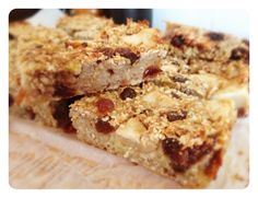 BANANA AND OAT SLICE - Cooking for Busy Mums