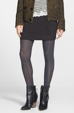 Cable knit tights bring back great memories of rocking these with skirts in middle school.  So cool.