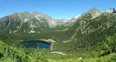 Beautiful sunny day in High Tatras National Park. Come to tarn of Poprad and start to gain altitude. Pure beauty of Slovakia nature. High Tatras, National Parks, Around The Worlds, River, Explore, Mountains, Nature, Outdoor, Outdoors