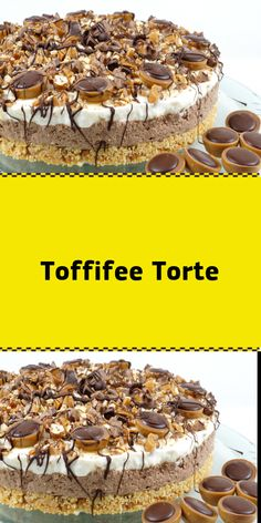 Toffifee Torte - Zutaten: Für den Boden: 200 g Butterkeks(e) 120 g Butter 120 g Karamellbonbon(s) weich z. Muh M - Baking Recipes, Cookie Recipes, Dessert Recipes, Tasty Chocolate Cake, Chocolate Recipes, Chocolate Covered Coffee Beans, Oreo Buttercream, Easy Cupcake Recipes, Pudding Cake