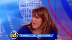 Unhinged New 'View' Host Rips Kim Davis: 'Bitch,' 'Monster' | RedFlag News