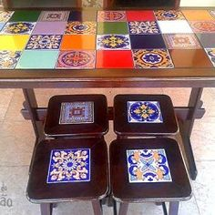 Como restaurar uma mesa de azulejos, dica da leitora