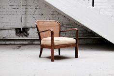 Tanskalainen 30-luvun nojatuoli