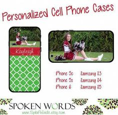 Personalized Cheer Photo Cell Phone Case for iPhone 4 by SpknWords Cell Phone Hand Holder, Cell Phone Wallet, Cell Phone Covers, Cell Phone Deals, Cell Phone Service, Iphone 5c, Iphone Cases, Latest Phones, Newest Cell Phones