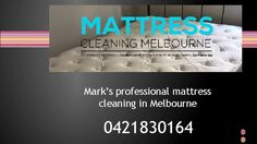 Mark's Mattress Cleaning Melbourne removes dust mites, bacteria, dead skins & get a better night's sleep & guaranteed mattress steam cleaning service.