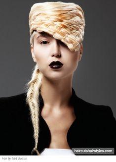 High Fashion Braided Hairstyle