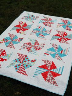 10 Easy Quilt Tutorials for Spring | Sew Mama Sew |