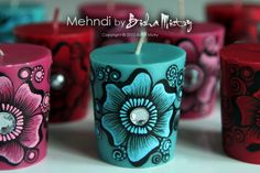 henna candles