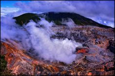 Poás Volcano, Costa Rica | The Poás Volcano is one of the mo… | Flickr - Photo Sharing!