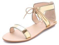 Loeffler Randall Sofia Scalloped Sandals