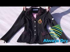 Start protecting your sports gear with Always Dry! Blazer, Sports, Fashion, Hs Sports, Moda, Fashion Styles, Blazers, Sport, Fashion Illustrations