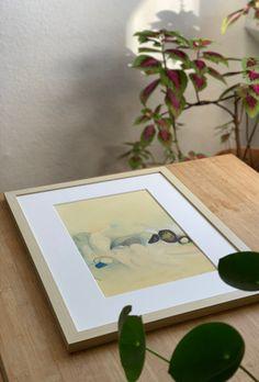 'Goldener Umhang' (2020), Sabrina Pohl. Polaroid Film, Frame, Interior, Plants, Art, Picture Frame, Art Background, Indoor, Kunst