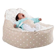 This Is The Highly Rated Doomoo Baby Bean Bag Chair In Pink With Stars And Circles Read Review At Hugebeanbagscouk