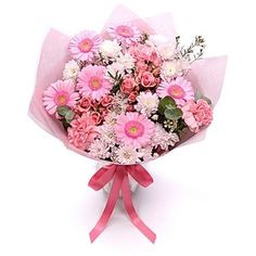 Personalised Pretty Pink Bouquet