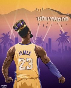 LeBron in the lakers bruh, lets hope and pray that he beat the warriors this time. Basketball Drawings, Basketball Moves, Basketball Posters, Basketball Pictures, Basketball Legends, Sports Basketball, Basketball Stuff, Lebron James Lakers, King Lebron James