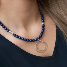 Breakthrough Lapis Necklace