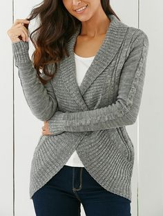 Fit: Order one size up for American customers Type: Cardigans Material: Acrylic Sleeve Length: Full Collar: Shawl Collar Style: Fashion Pattern Type: Solid Season: Fall,Winter Weight: 0.430kg Package