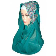 Jilbab ini terbuat dari bahan yang bagus, dan di kasih motif yang bagus agar klihatan lebih menarik