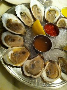 Oysters from B Oysters in Boston, MA..okay..so I might have to beg the hubs to go back to Boston just for seafood..