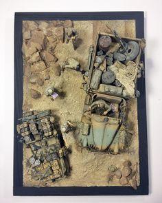 SAS Desert Rats - 1:35 by Daz (MModels)