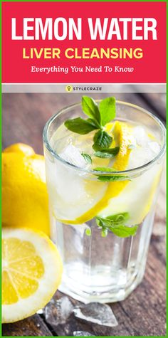 Lemon Water Cleanse Liver