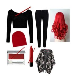 """""""Halloween Twenty One Pilots Costume"""" by swagneverstops ❤ liked on Polyvore featuring art"""