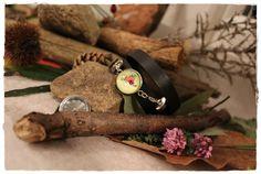 Montre vintage - Les éphémères - Edition limitée de Khoutûre Factory - Robes, tuniques, sarouels sur DaWanda.com