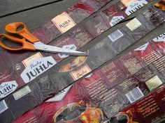 Koppa JuhlaMokka pusseista – Käsitöitä ja Puutarhanhoitoa Korn, Handicraft, Carving, Tuli, Tableware, Coffee Bags, Sachets, Cookies, Mocha