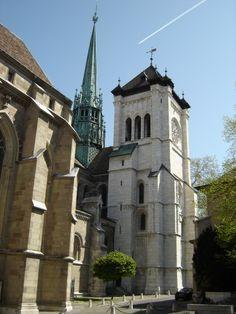 Catedral San Pedro, Ginebra, Suiza
