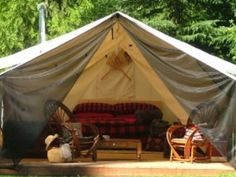 """Glamping """"Canada- style"""""""